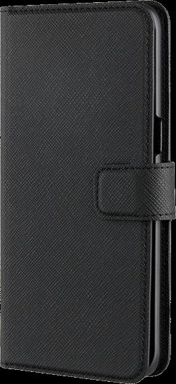 Xqisit Wallet Viskan Galaxy S8 Svart