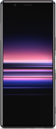 SONY-xperia-5-front-black