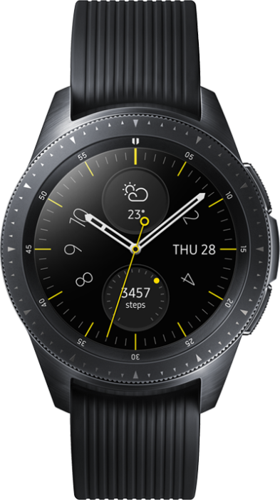Samsung Galaxy Watch 4G 42mm Svart