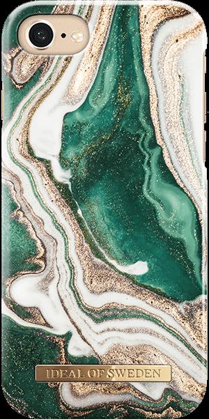 Ideal of Sweden Case iPhone 8/7/6 Golden Jade Marble