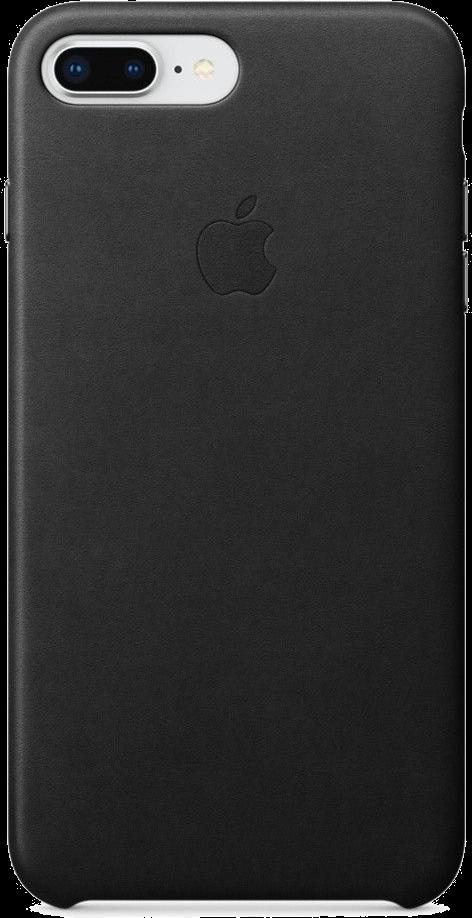 Apple iPhone 7/8 Plus Leather Case Svart