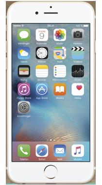 iPhone 6s 16 GB</br>Minste totalpris 12 md.</br>med SMART Pluss