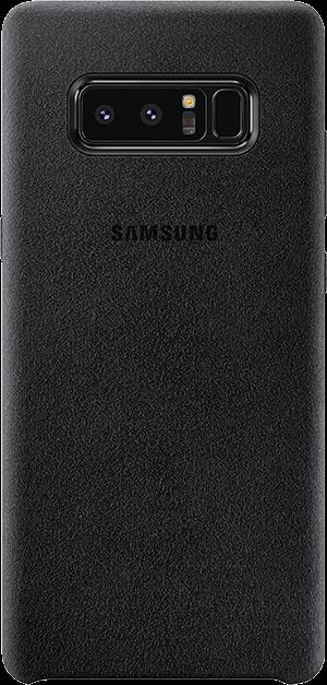 Samsung Alcantara Galaxy Note 8 Svart