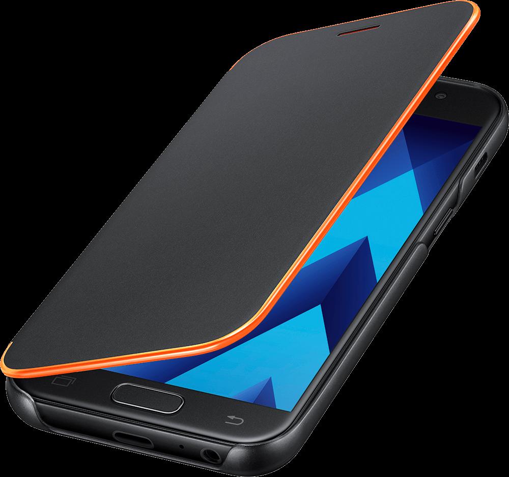 Samsung Neon Flip Galaxy A3(2017) Svart