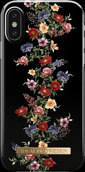 Ideal of Sweden Case iPhone X/Xs Dark Floral