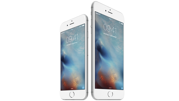 iphone 6s tommer