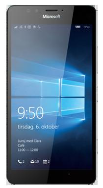 Microsoft Lumia 950</br>Minste totalpris 12 mnd