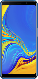 Galaxy A7 Front Blue