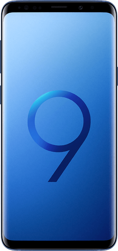 galaxys9plus front blue