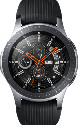GalaxyWatch Silver FrontClosed