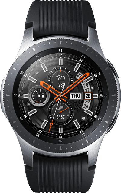 Samsung Galaxy Watch 4G 46mm Sølv