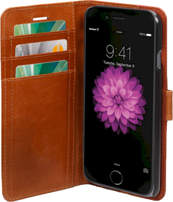 dbramante1928 Wallet Copenhagen iPhone 6/6s Plus Golden Tan