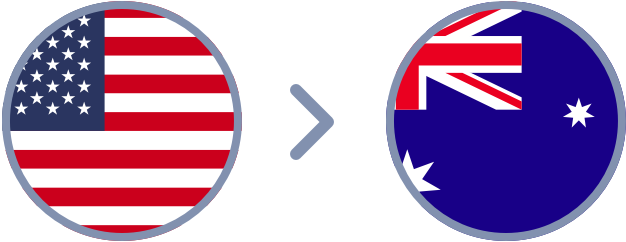 How to transfer US Dollars to Australia quickly & easily