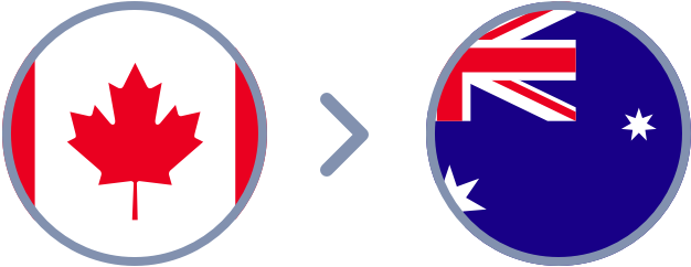 How to transfer Canadian Dollars to Australia quickly & easily