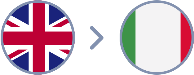 How to transfer British Pounds to Italy quickly & easily