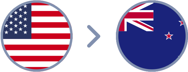 How to transfer US Dollars to New Zealand quickly & easily