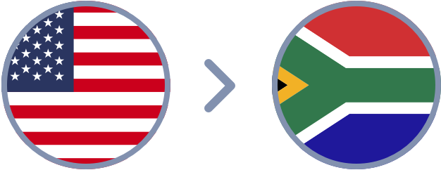How to transfer US Dollars to South Africa quickly & easily