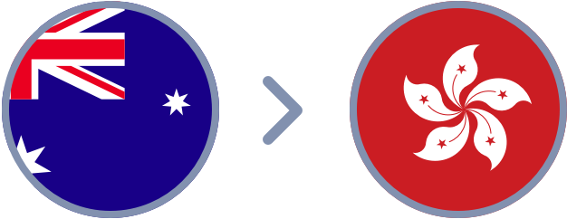 How to transfer Aussie dollars to Hong Kong