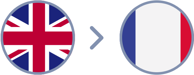 How to transfer British Pounds to France quickly & easily