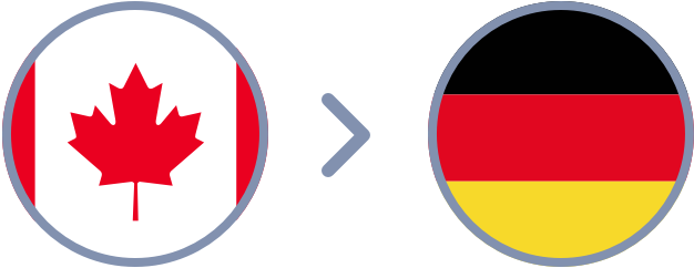 How to transfer Canadian Dollars to Germany quickly & easily