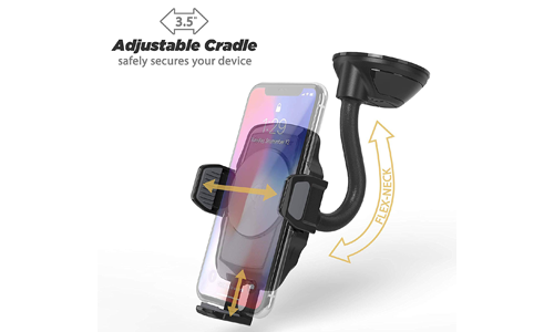 SCOSCHE QI WIRELESS CHARGING CAR MOUNT