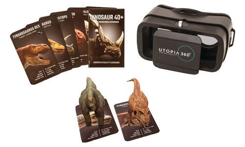 RETRAK UTOPIA 360 4D+ DINOSAUR AR BUNDLE