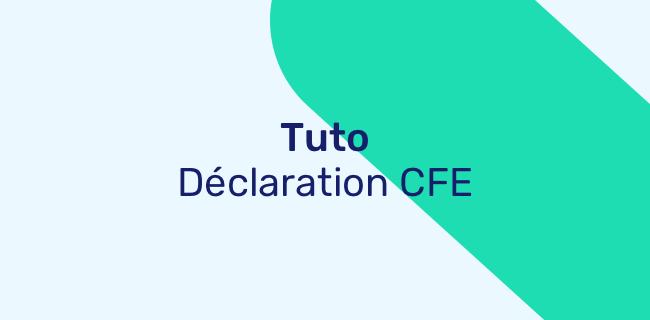 Comment Remplir Ma Declaration Initiale De Cfe