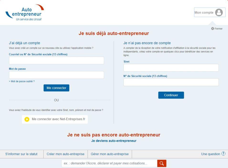 Declaration De Chiffre D Affaires Pour Auto Entrepreneur