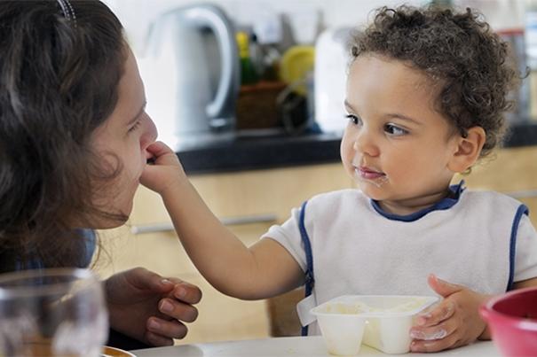 Ideas de refrigerios para niños pequeños