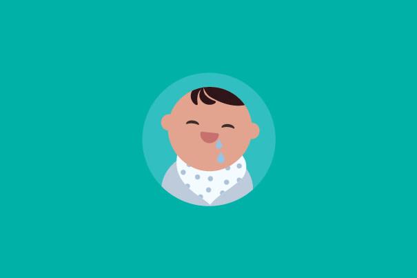 Síntomas de la dentición en tú bebé
