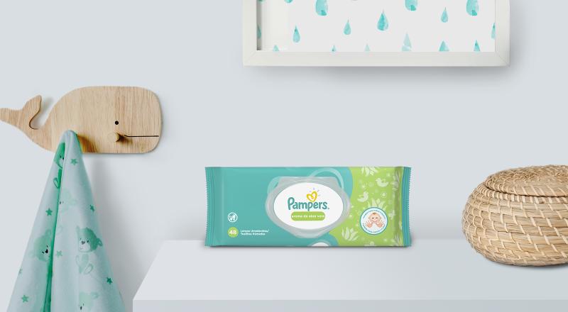 Toallitas Húmedas Pampers® Aroma Naturaleza