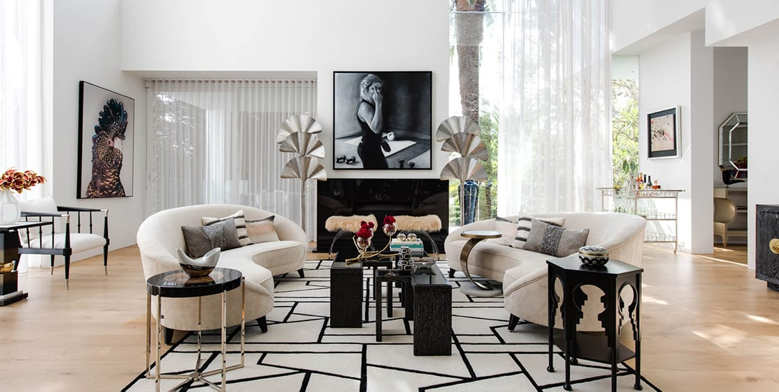 Kris Jenner S Home Comes To A Melbourne Living Room Upside Realty
