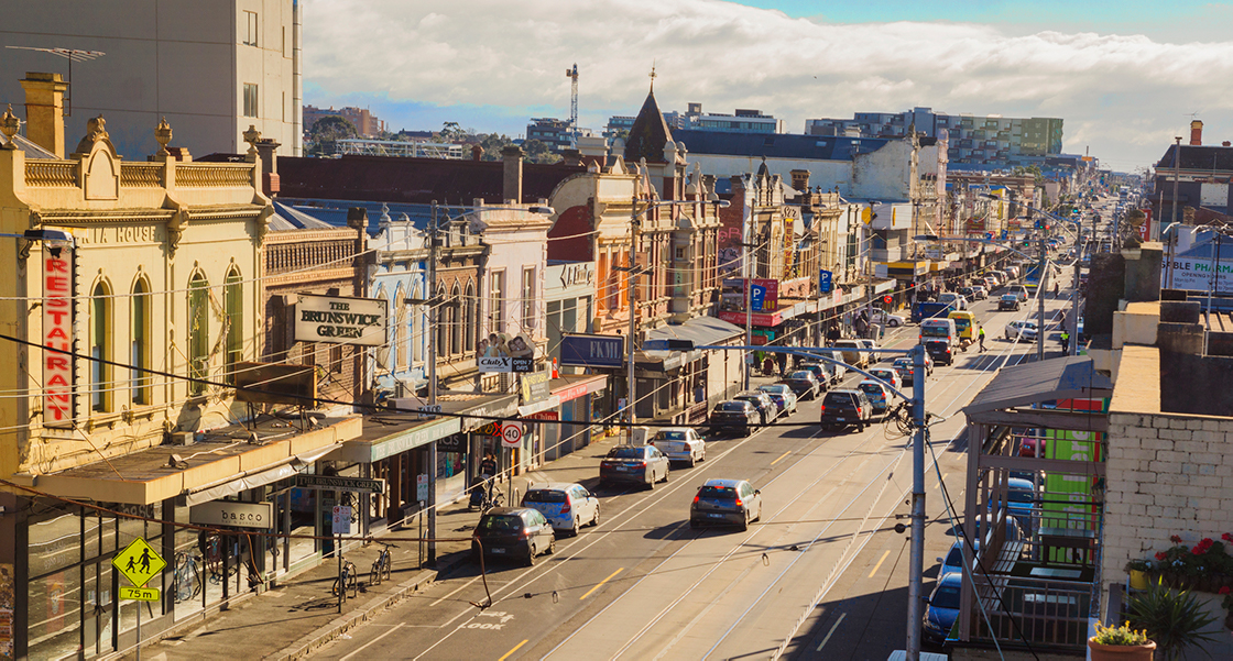 brunswick north melbourne sydney road growing demand