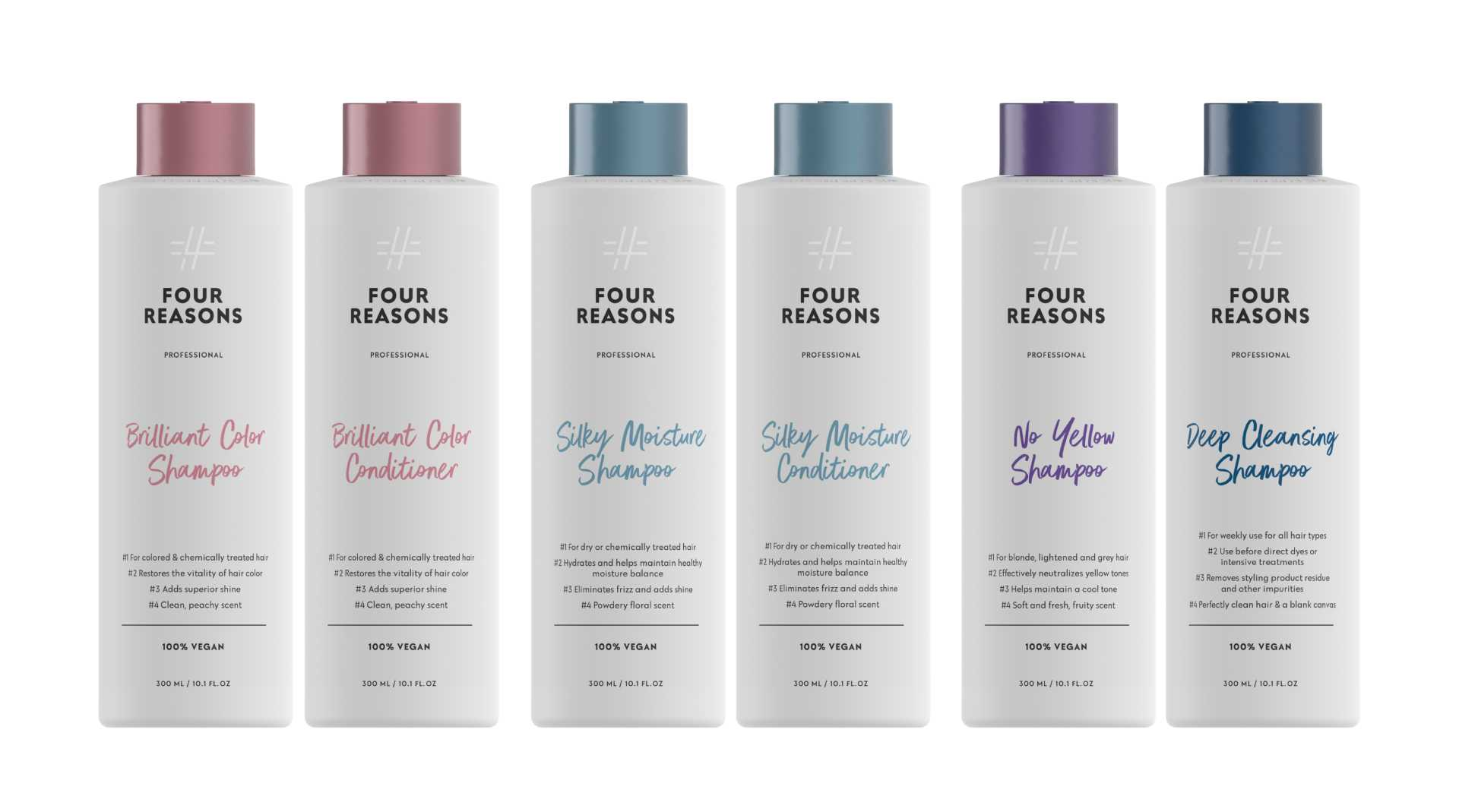 Four Reasons Professional Shampoos & Conditioners