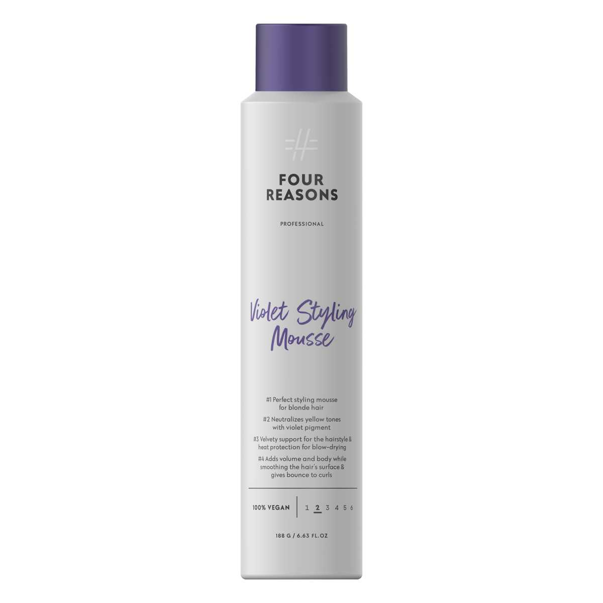 Four-Reasons-Professional-Violet-Styling-Mousse