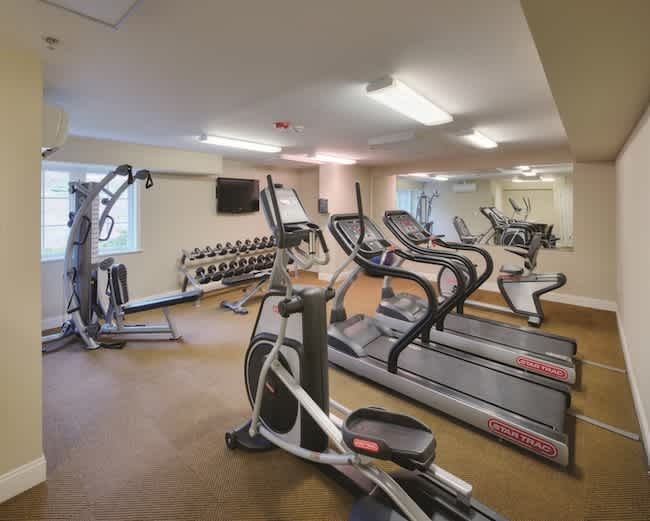 Fitness center at The Residences at Biltmore