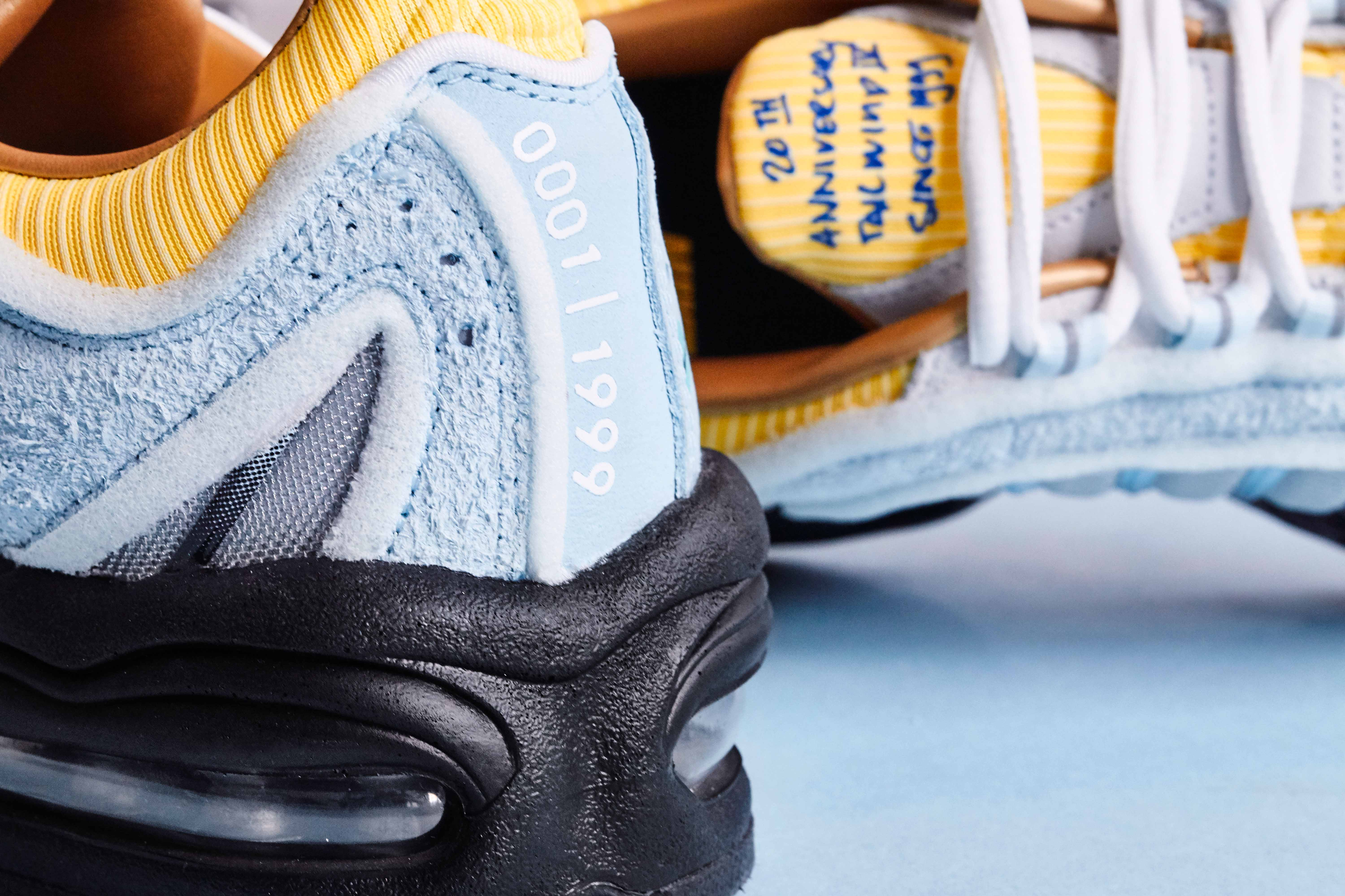 To celebrate their 20th anniversary, Sneakersnstuff will