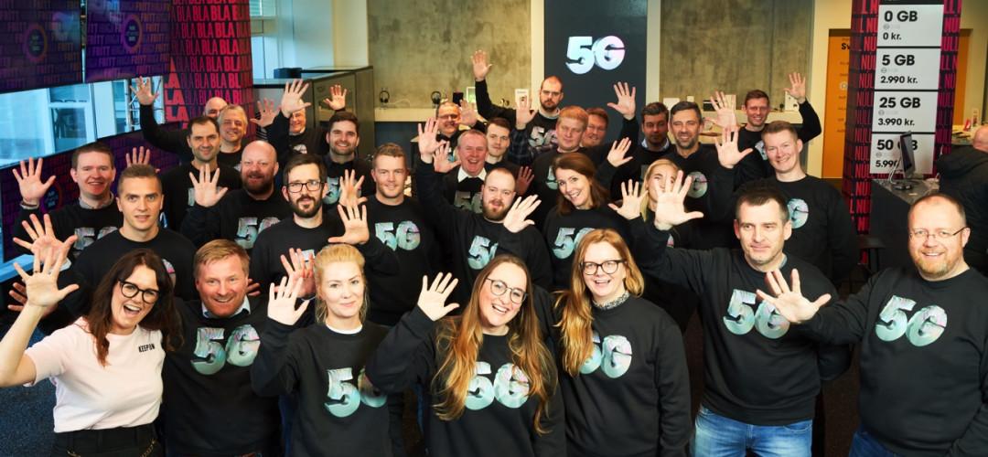 5G í loftið hjá Nova!