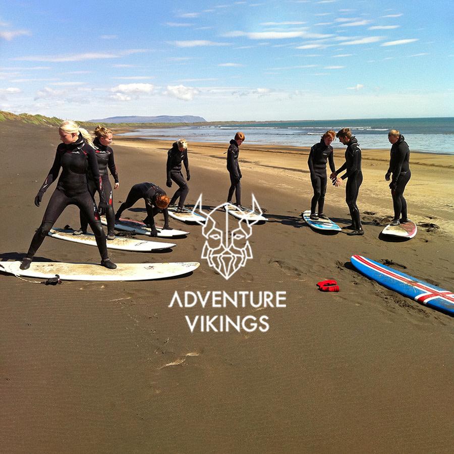 Adventure Vikings | Surf námskeið