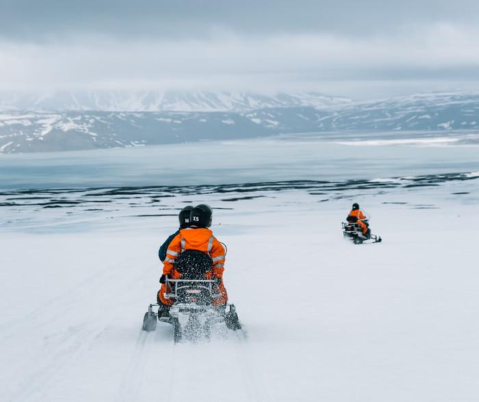 Mountaineers   Snjósleðaferð