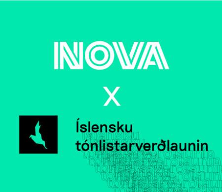 Nova X Íslensku tónlistarverðlaunin