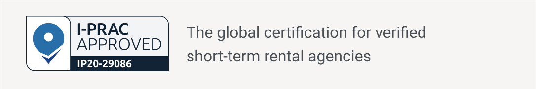The global certification for verified short-term rental agencies