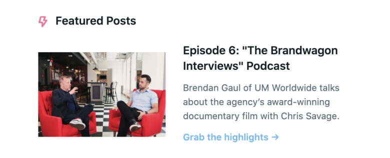 brandwagon interviews podcast