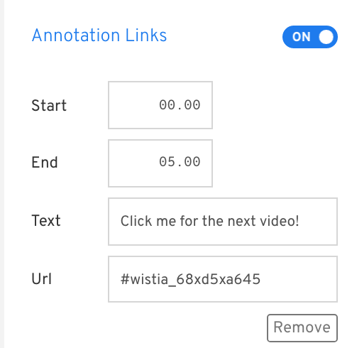 embed links annotation