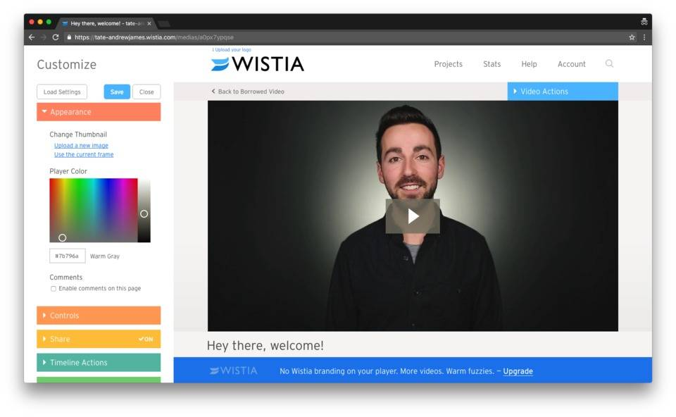 Vyond Integration — Wistia