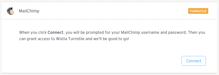 connect mailchimp