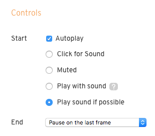 autoplay settings