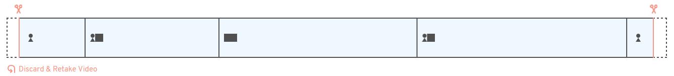 Soapbox segmented playbar when editing