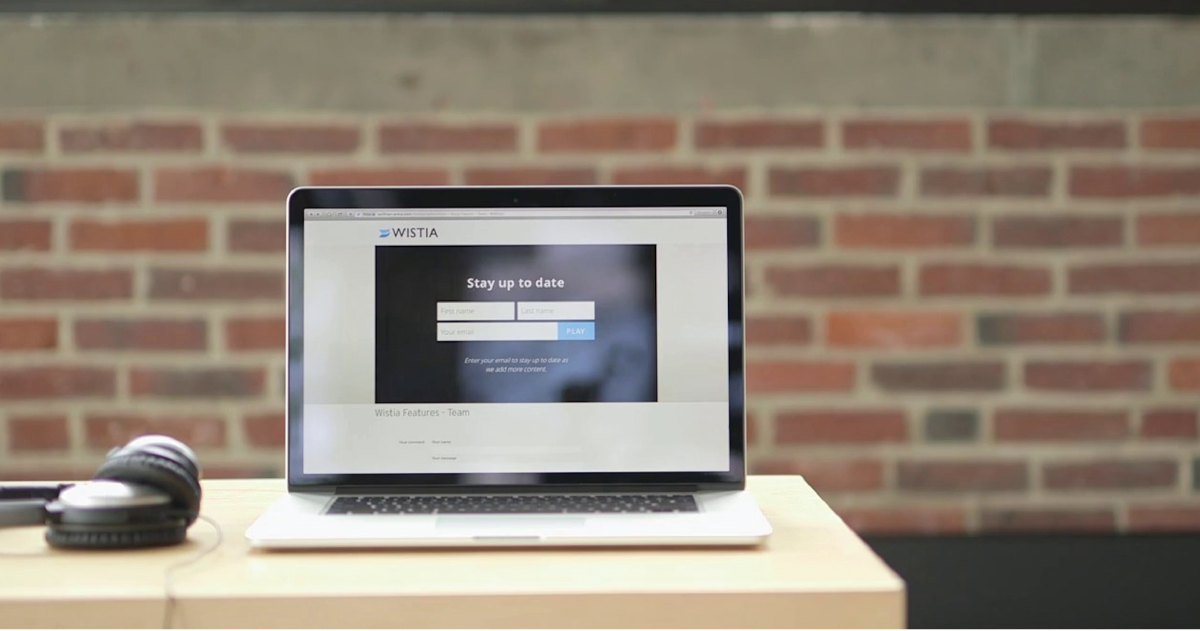 Wistia Turnstile Email Collector - Generate Leads with Video