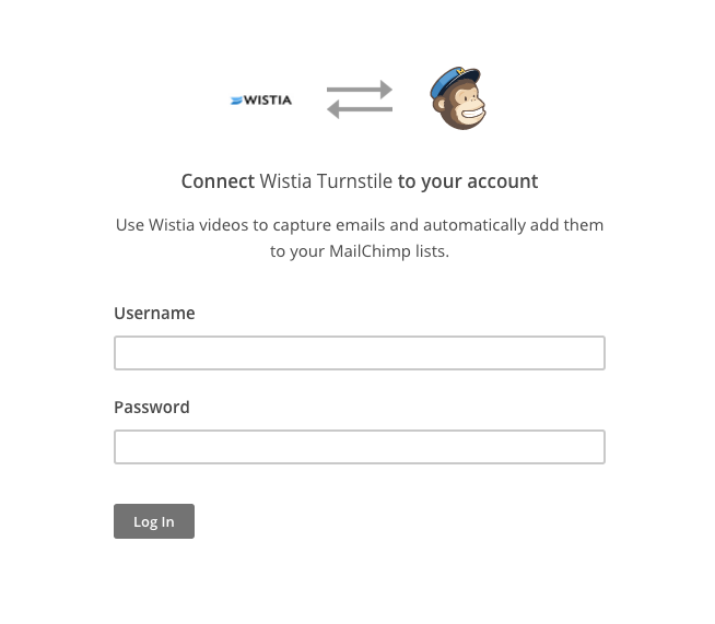 connect mailchimp auth